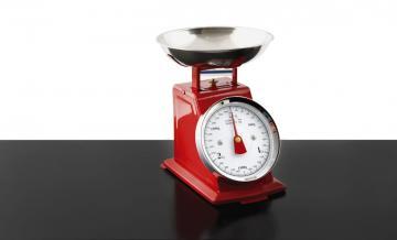 balance de cuisine en acier m canique 39 39 r tro 39 39 3 kg rouge bol amovible inox. Black Bedroom Furniture Sets. Home Design Ideas