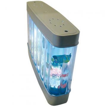 Ecran plat lumineux aquarium anim for Aquarium plat