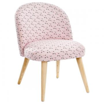 fauteuil pour enfant sweety pied en bois d 39 h v a chaise tabouret ebay. Black Bedroom Furniture Sets. Home Design Ideas
