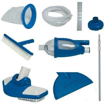 Kit entretien piscine intex luxe epuisette balai for Nettoyage piscine intex