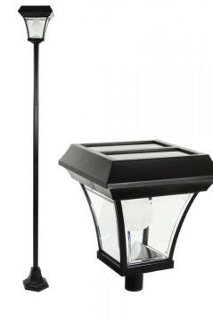 Lampadaire solaire de jardin frais de port offert for Farolas solares jardin