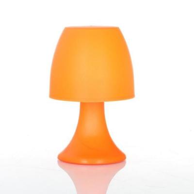 lampe design champignon orange d co lampe de chevet h 23 5 cm ebay. Black Bedroom Furniture Sets. Home Design Ideas