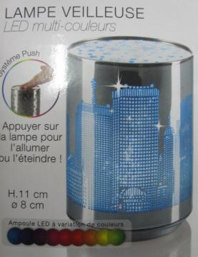 Couleur City Veilleuse Led 5 Multi 90 Lampe € pSzMVLGqU