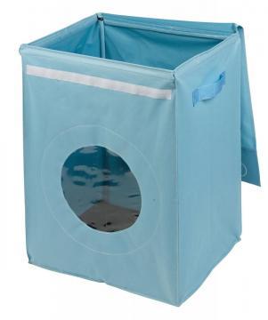 panier linge 39 39 lave linge 39 39 bleu. Black Bedroom Furniture Sets. Home Design Ideas