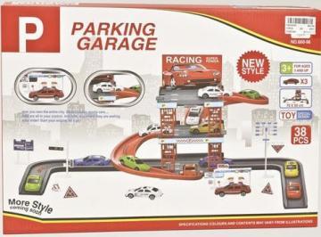 Garage parking circuit garage 2 tages voitures for Assurance voiture garage parking
