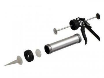 pistolet cartouches poches de silicone corps aluminium tube graisse presse ebay. Black Bedroom Furniture Sets. Home Design Ideas
