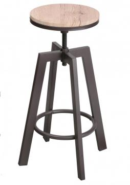 Tabouret de bar industriel  X 2