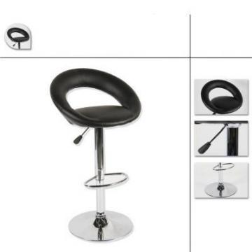 tabouret de bar noir simili cuir lot de deux frais de port offert. Black Bedroom Furniture Sets. Home Design Ideas